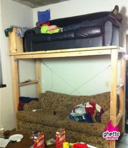 Try to avoid campus beds like this :p
